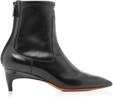 Santoni Demi Leather Boots