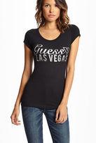 GUESS Women's Las Vegas Showgirl Tee
