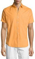 Peter Millar Seaside Washed Short-Sleeve Shirt