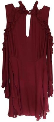 IRO Burgundy Viscose Dresses