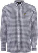 Lyle And Scott Long Sleeve Gingham Check Shirt