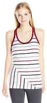 Soffe Women's Jr Stripe Tank Cotton