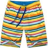 APTRO Men's Summer Casual Swim Trunks Adjustable Drawstring Boardshort Stripes XL