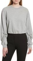 3.1 Phillip Lim Women's Pierced Sleeve Sweatshirt