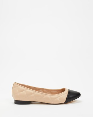 Billini - Women's Nude Ballet Flats - Primrose - Size 7 at The Iconic