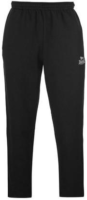 Lonsdale London Open Hem Fleece Pants Mens
