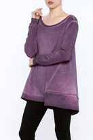 Easel Stone Washed Tunic