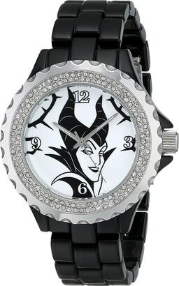 Disney Women's W001796 Maleficent Watch Analog Display Analog Quartz