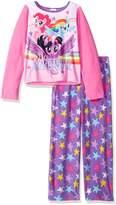 My Little Pony Little Girls' 2-Piece Fleece Pajama Set