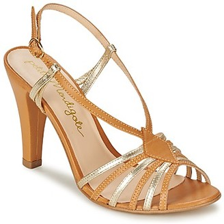 Petite Mendigote TOURTERELLE women's Sandals in Brown
