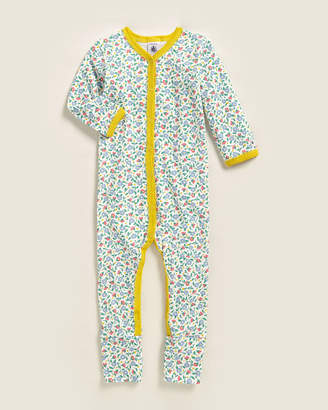 Petit Bateau Infant Girls) 12 Months Floral Bodysuit