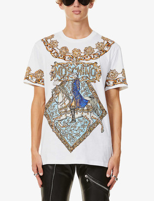 Moschino Fantasy Horse print cotton-jersey T-shirt