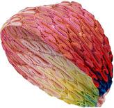 Missoni Soft Pink/Yellow-Multi Rayon Head Wrap
