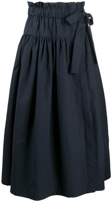Odeeh Belted Midi Skirt