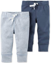 Carter's 2-Pk. Drawstring Jogger Pants, Baby Boys (0-24 months)