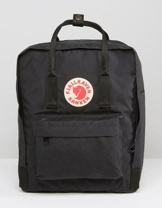 Fjallraven Kanken 16l backpack black