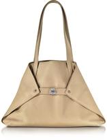 Akris Ai Small Cordage Leather Tote Bag