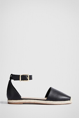 Witchery Hart Leather Flat