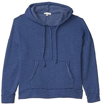 FP Movement Work It Out Hoodie (Indigo Blue) Women's Sweatshirt