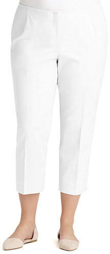 Lafayette 148 New York Bleecker Cropped Pants, Plus Size