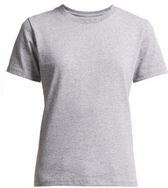 x karla The Crew Cotton-blend T-shirt - Womens - Grey