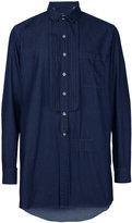 Miharayasuhiro removable embellish shirt - men - Cotton - 46