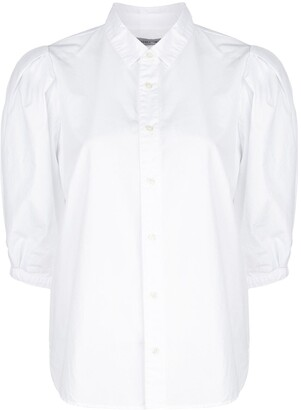 Citizens of Humanity cropped sleeve cotton shirt