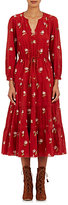 Ulla Johnson Women's Clementine Midi-Dress-BURGUNDY