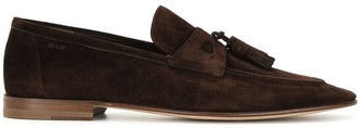 Bally Edgar suede loafers