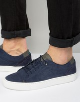 Ted Baker Kiing Suede Trainers