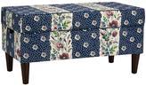 Skyline Furniture Non-Tufted Floral Storage Bench