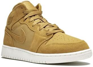 Nike Kids TEEN Air Jordan 1 Mid BG sneakers