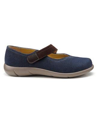 Hotter Wren Standard Fit Mary Jane Shoe