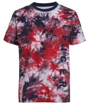 Tommy Hilfiger Big Boys Swirl Print T-shirt