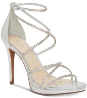 Jessica Simpson Jaeya Strappy Dress Sandals Women's Shoes