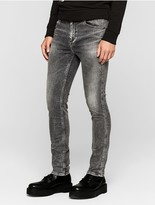 Calvin Klein Jeans Sculpted Faded Grey Slim Jeans