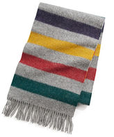 HBC Hudson'S Bay Company Multi Stripe Wool Scarf