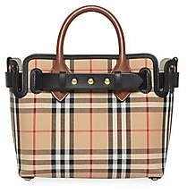 Burberry Women's Baby Triple Stud Vintage Check Belt Tote