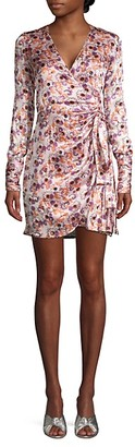 Alexis Barbara Kari Floral Wrap Dress