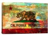 iCanvas 'Pattern Fade California Flag - Fabrizio' Giclee Print Canvas Art