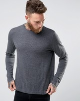 Asos Crew Neck Sweater in Relaxed Fit