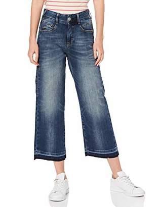 Herrlicher Women's Gila Sailor Cropped Jogg Bootcut Jeans,30W / 30L