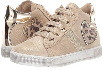 Naturino Damme Zip AW19 (Toddler/Little Kid) (Gold) Girl's Shoes