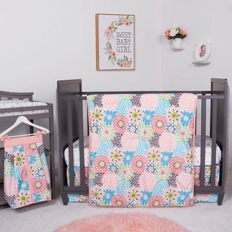 Trend Lab Waverly Blooms 5 Piece Crib Bedding Set