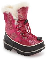 Sorel Toddler Girl's Tivoli Ii Waterproof Snow Boot With Faux-Fur Cuff