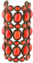 Andrew Gn Glass Oversized Cuff