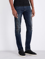 Armani Jeans J06 slim-fit straight mid-rise jeans