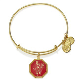 Alex and Ani July Larkspur Flower