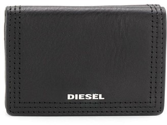 Diesel Small tri-fold wallet in leather