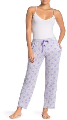 Couture PJ Grey Lavender Polka Dot Pajama Pants